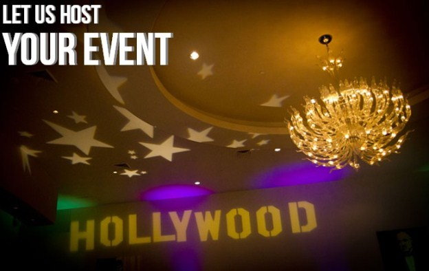Let us host your next event at Star Cinema Grill