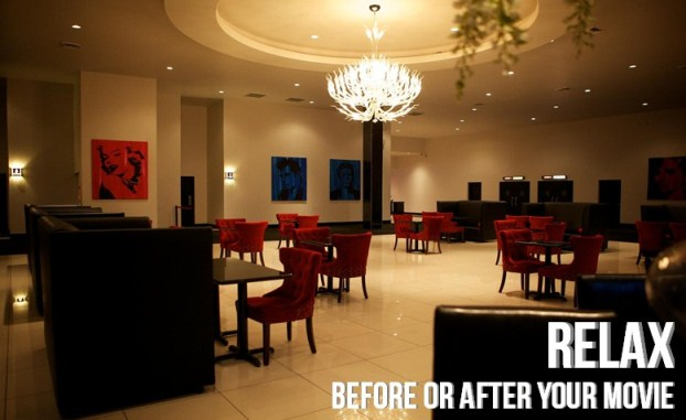 Relax before or after your movie in our lounge at Star Cinema Grill