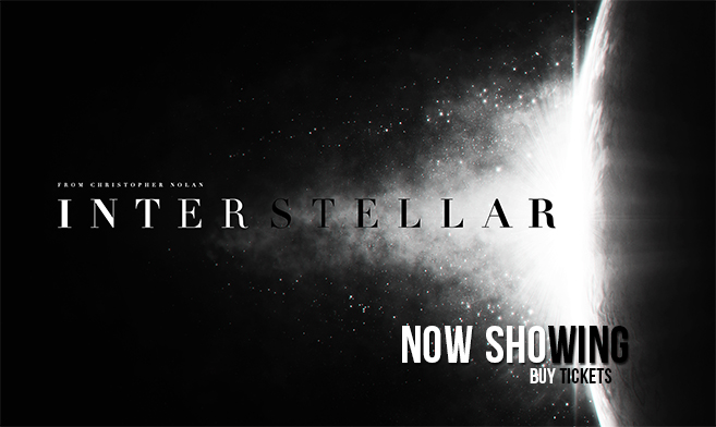 Interstellar NOW PLAYING