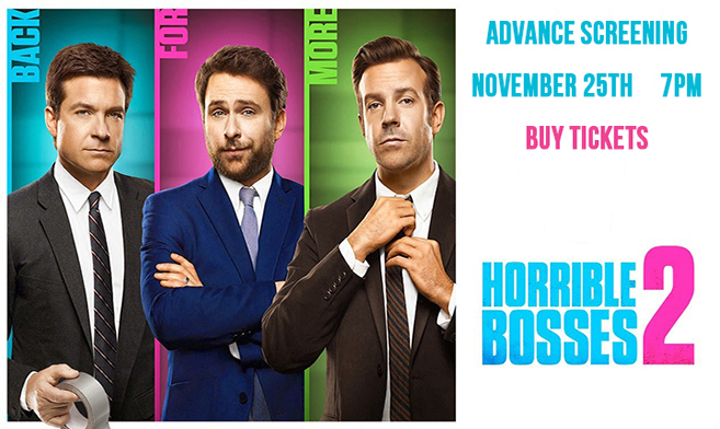 Horrible Bosses 2 coming soon