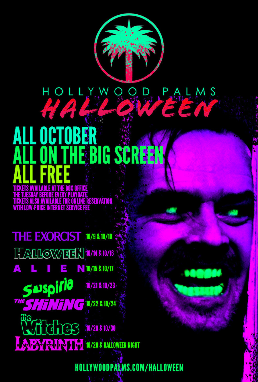 Hollywood Palms Halloween